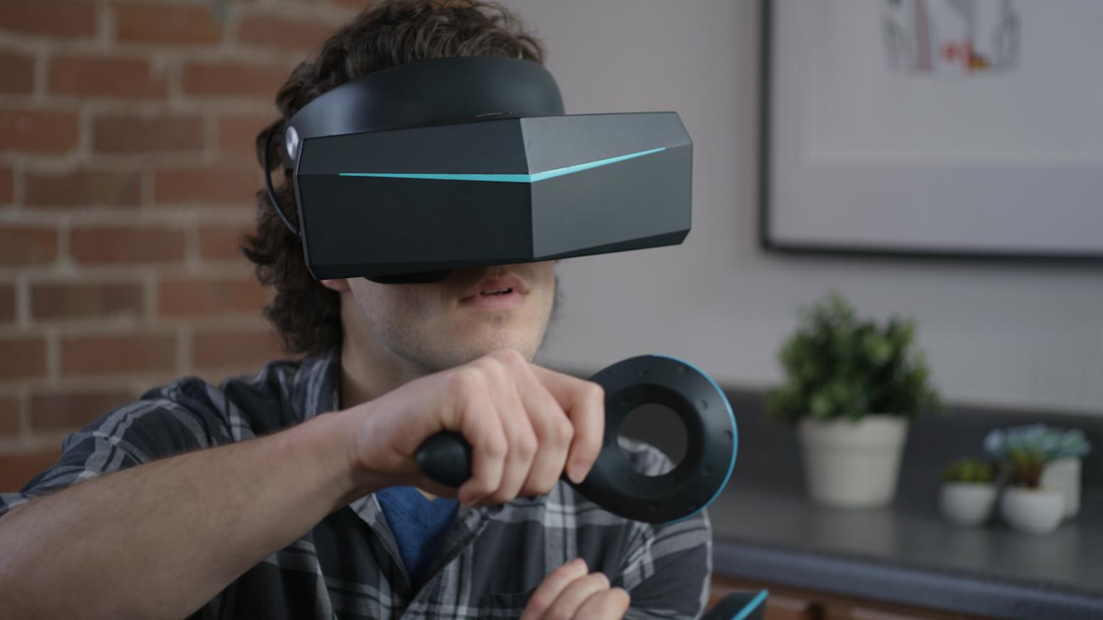 专访|小派8K VR头显完成424万美金众筹,超越Oculus成KS VR众筹第一名