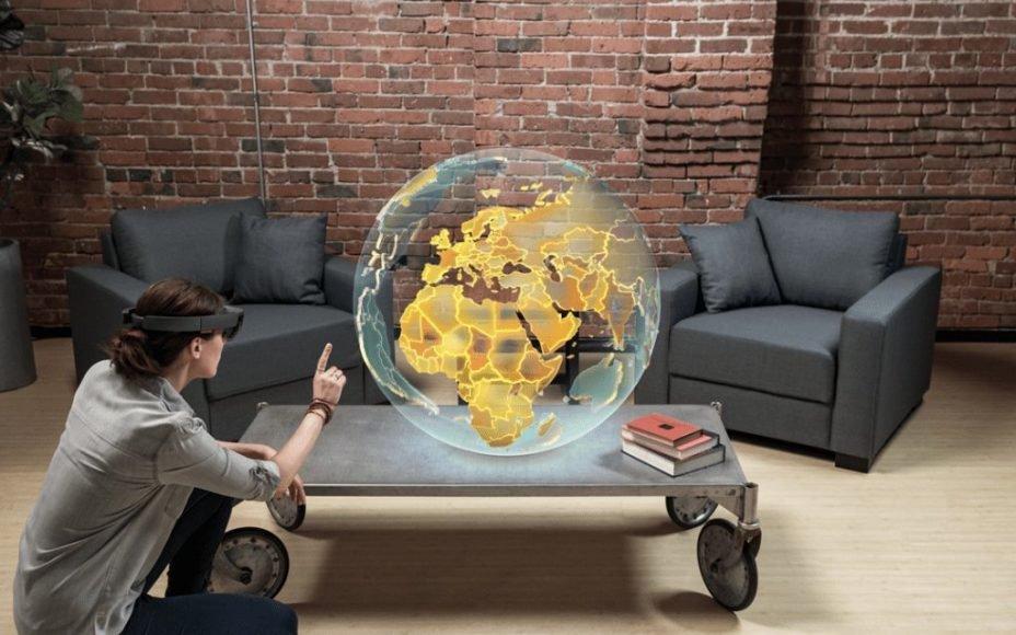 微软新专利曝光,欲通过HoloLens打造3D全息投影平台