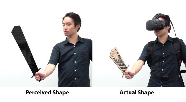 """东京大学研究""""形状感知模型"""",可大幅减小VR控制器体积"""