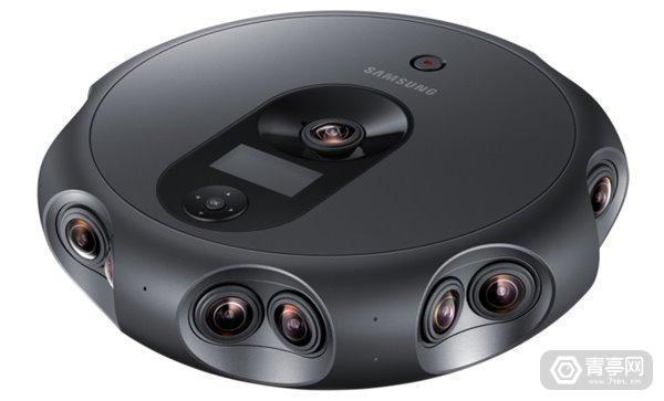 三星发布360 Round全景相机:17个摄像头,支持4K直播