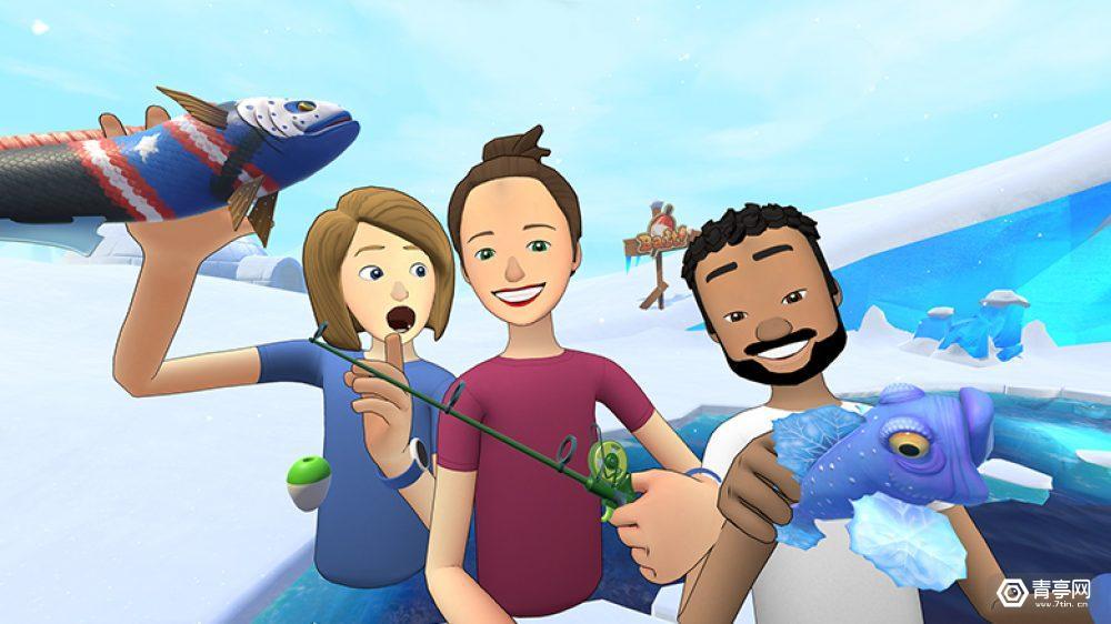 风靡Facebook Spaces钓鱼游戏《Bait!》教你玩VR社交