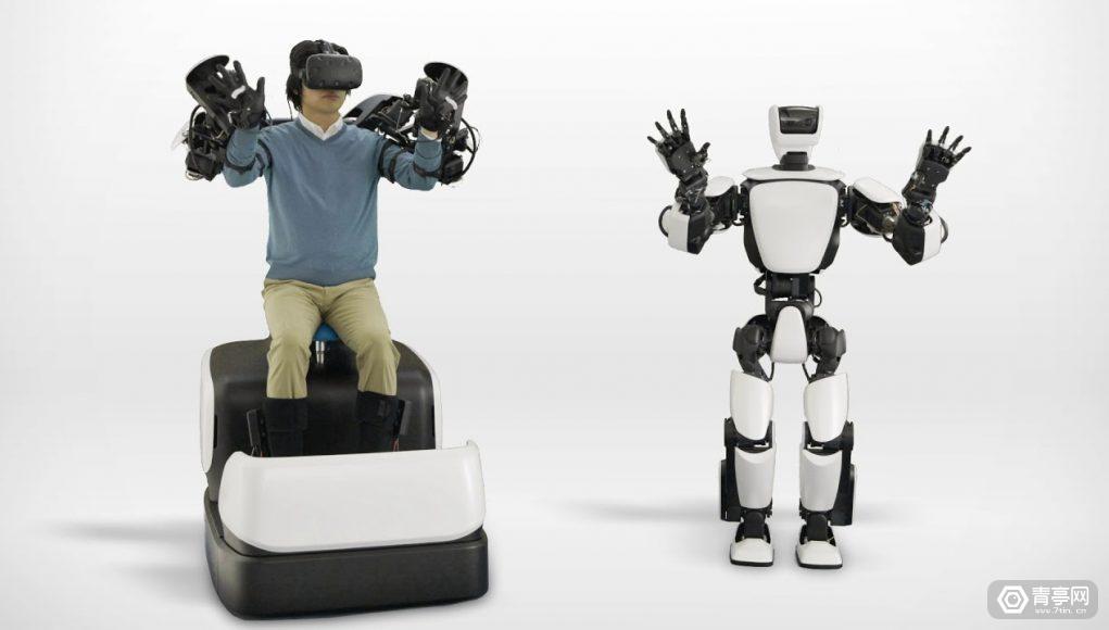 丰田通过HTC Vive来远程操作T-HR3人形机器人