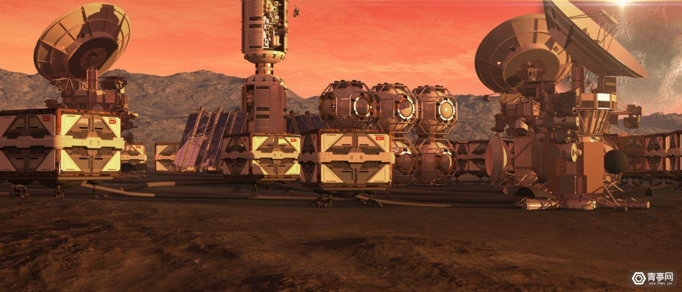 阿联酋发布火星首座城市的VR之旅,计划2117年移民火星