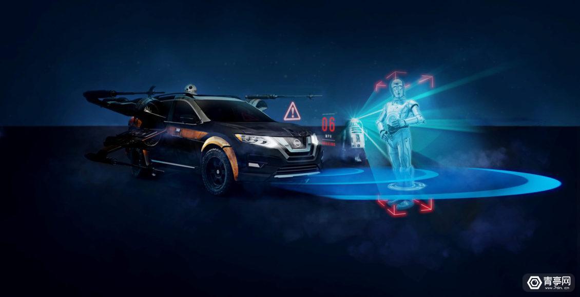 尼桑汽车通过《星球大战》AR体验展现车辆安全性