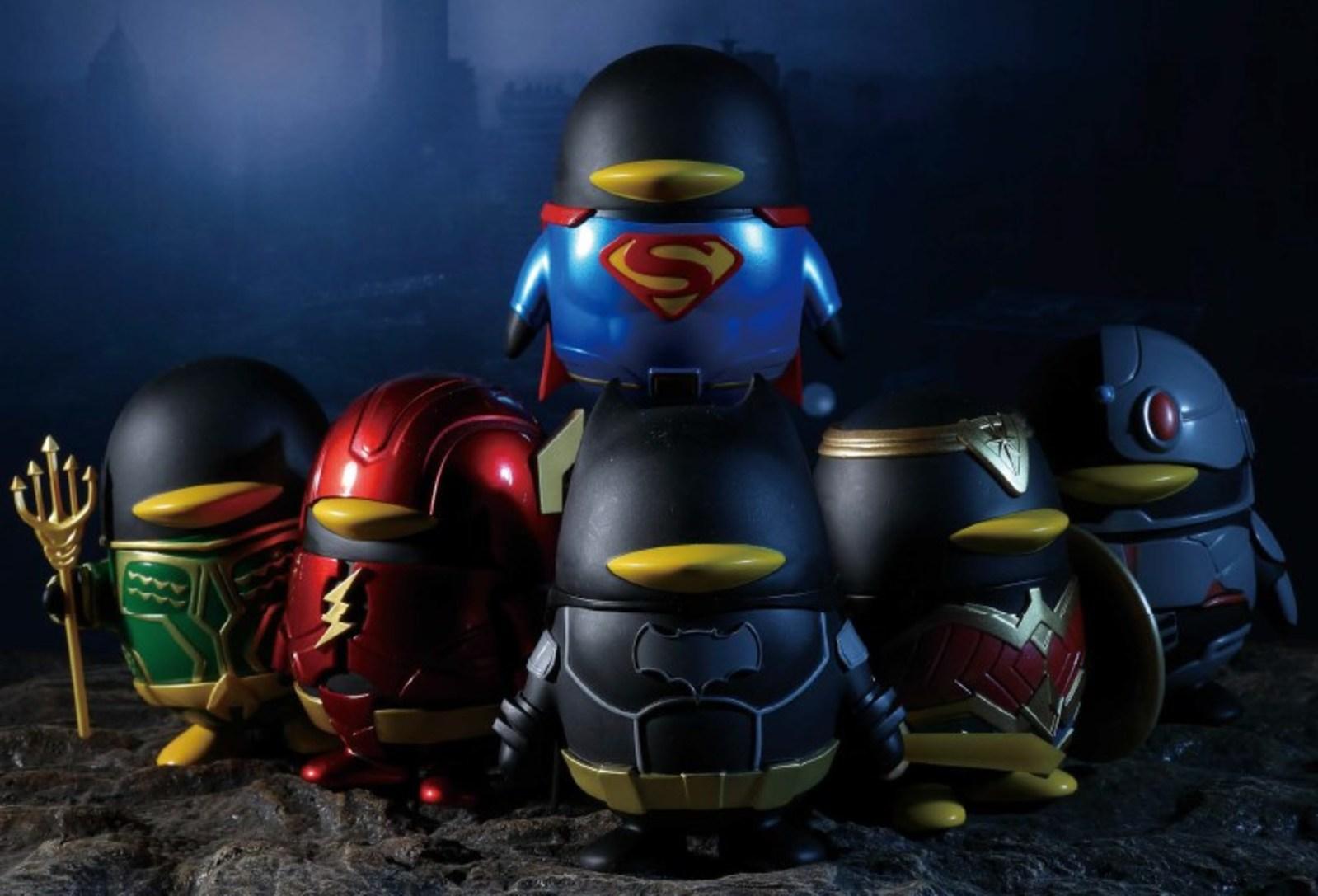 QQ-Justice League-doll