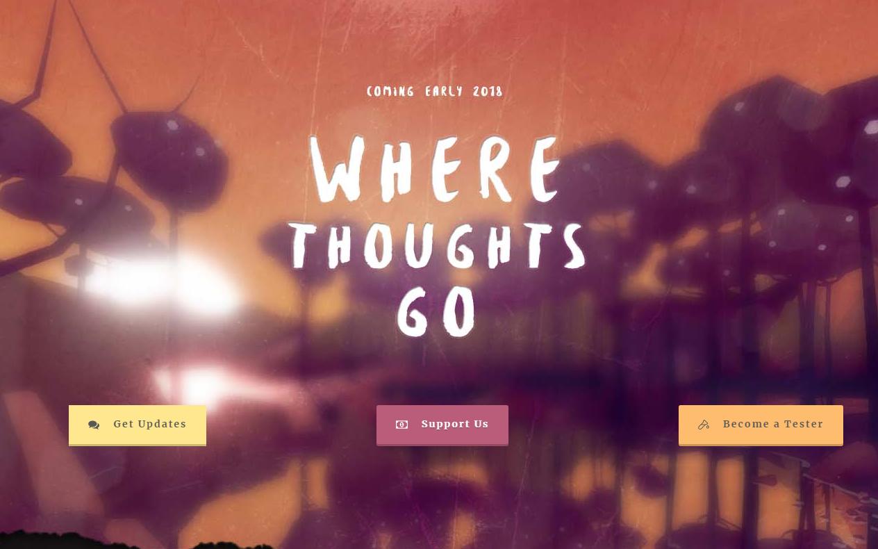 匿名VR社交应用,Where Thoughts Go将于明年发布
