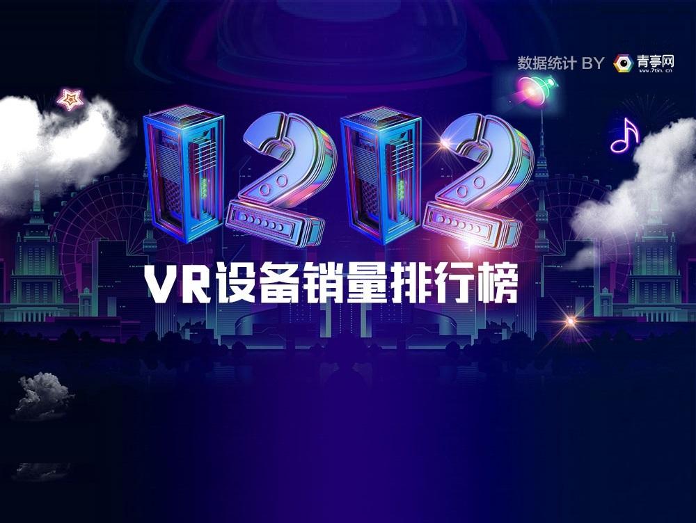 最全!双十二VR设备销量榜,HTC一体机开售销量几何?