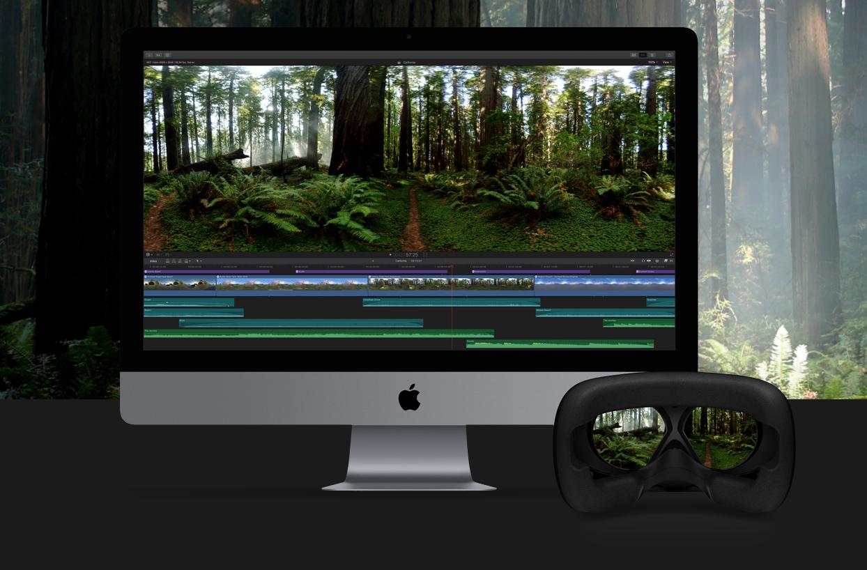 苹果更新Final Cut Pro X,现已支持360°视频编辑