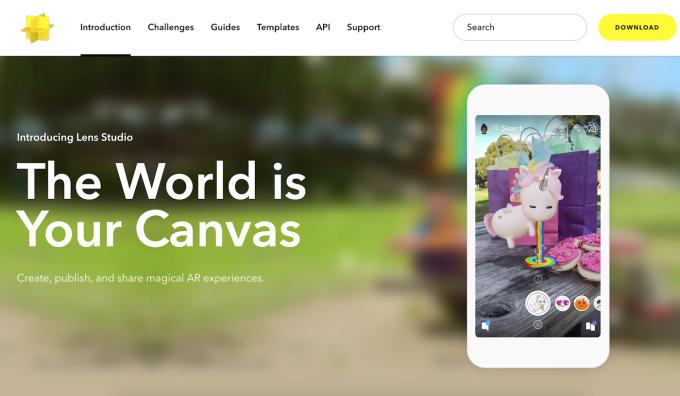 1-lens-studio-homepage