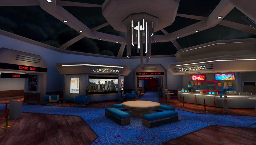 VR社交Bigscreen牵手派拉蒙推VR电影院,可看3D版《壮志凌云》