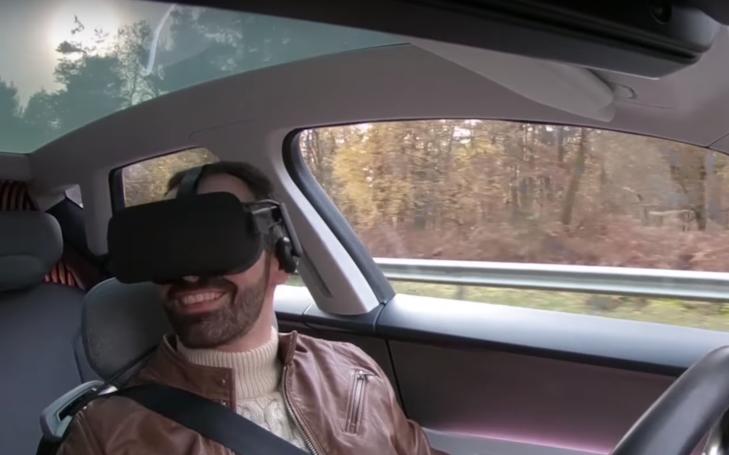 雷诺开发VR应用,演示自动驾驶时代汽车与VR的结合