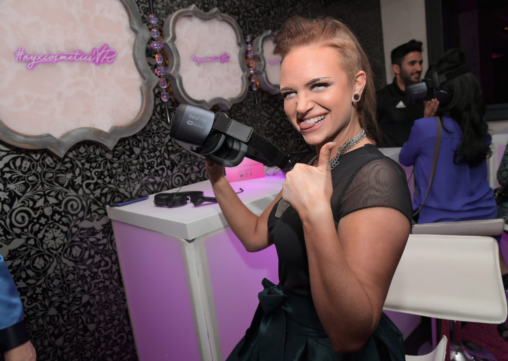 NYX Professional Makeup and Samsung VR Launch Party