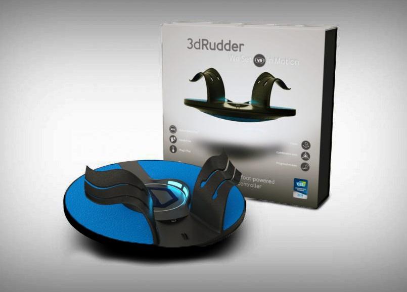 3DRudder发布新款Blackhawk控制器,售价140美元