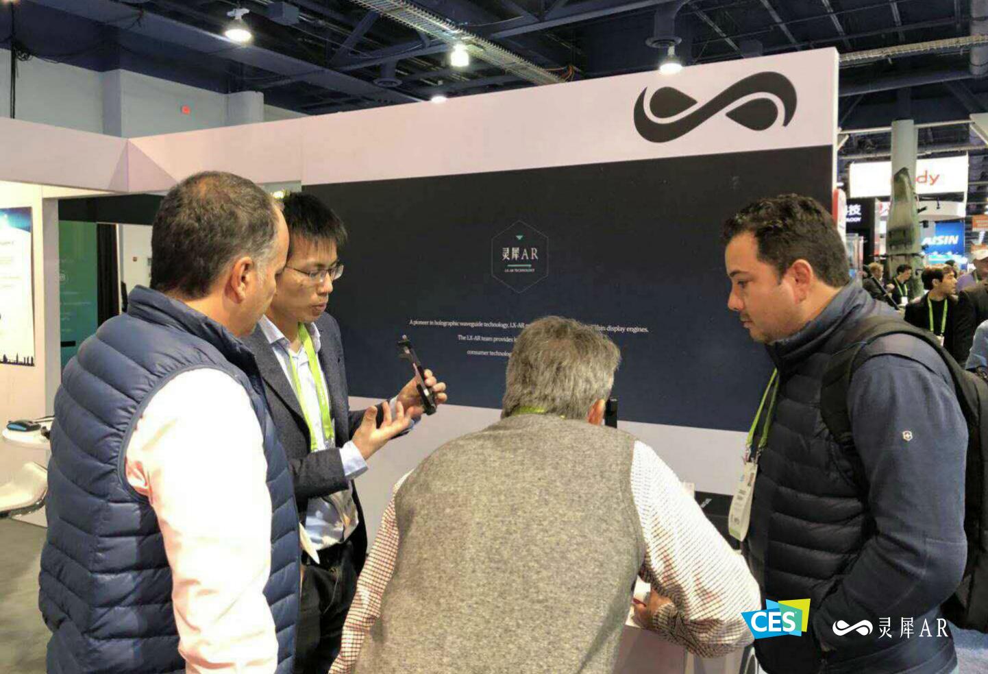 灵犀微光CES展示Mini-Glass模型,720p分辨率仅重110g