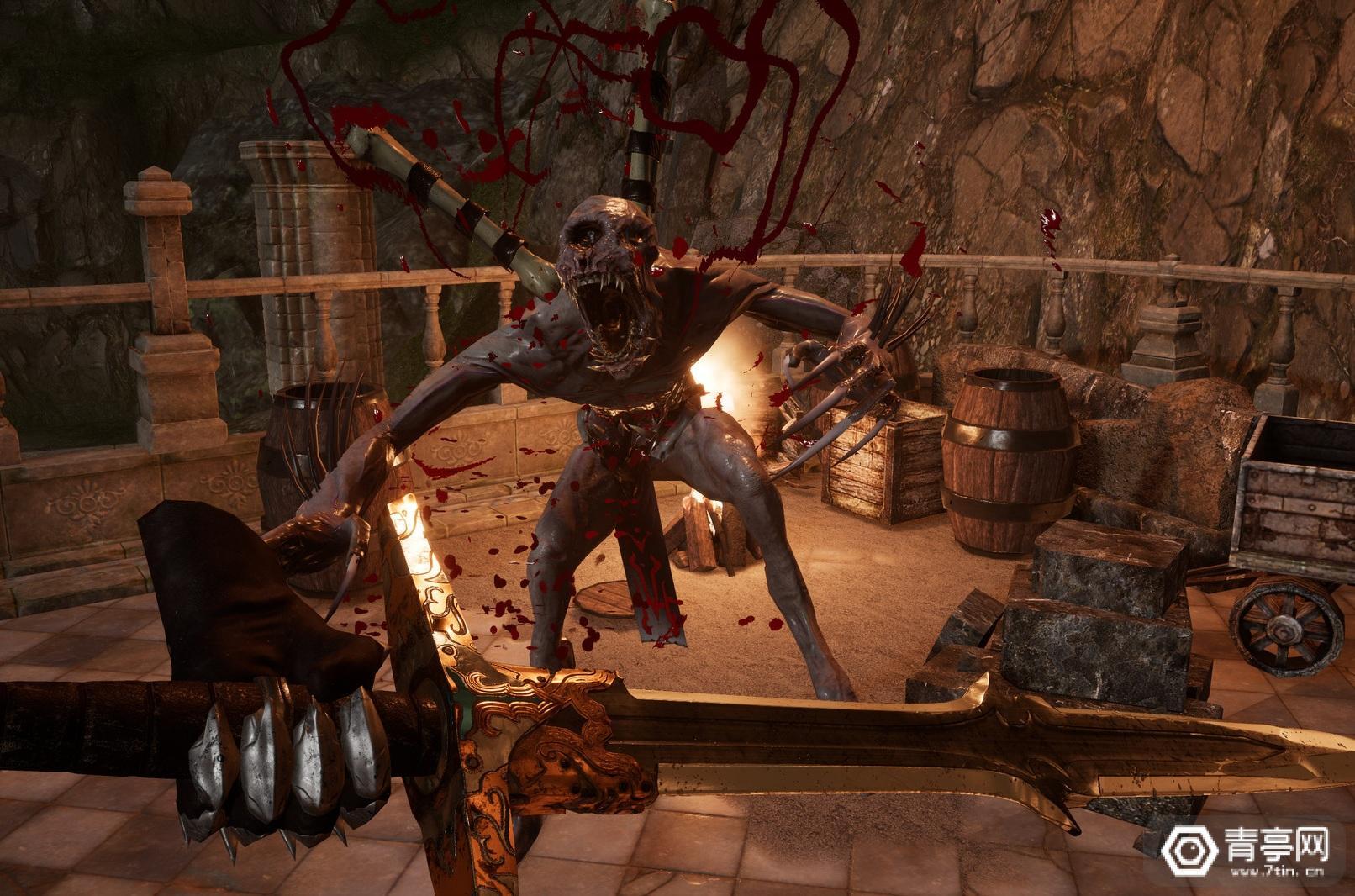 打败地狱部队!奇幻战斗视频游戏《地狱:死亡地带》登陆Steam