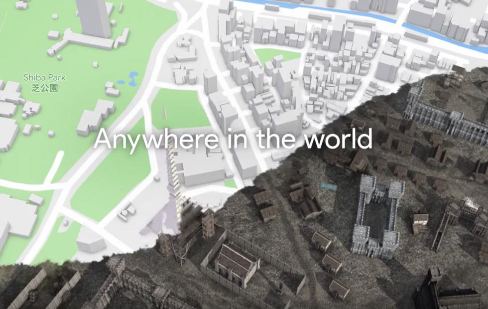 谷歌地图今后直接就能玩AR/MR游戏了!