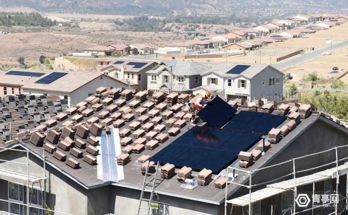 美国加州或将规定,2020年后新房必须装太阳能