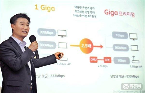韩国电信SK:将推10Gbps宽带,首尔等地正在测试