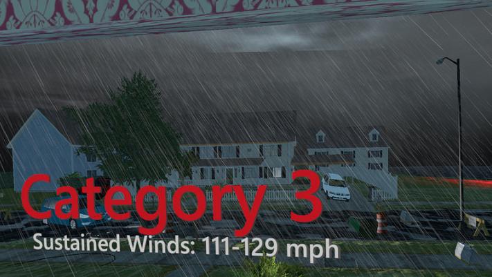 VR被用于提高飓风等恶劣天气预警准备工作