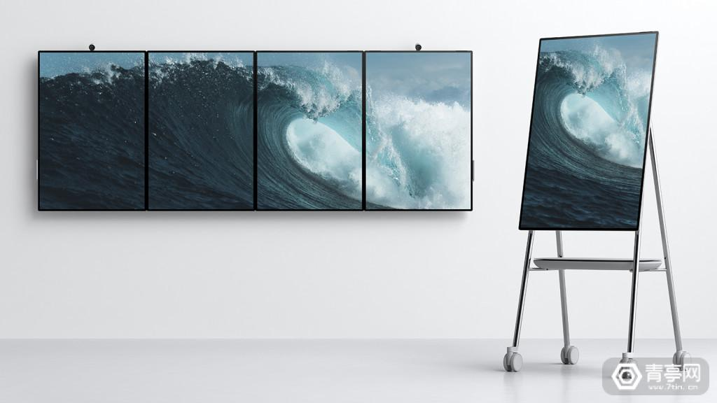 微软Surface Hub 2 DevicesBusiness_SH2_5_ImagePanel_V1