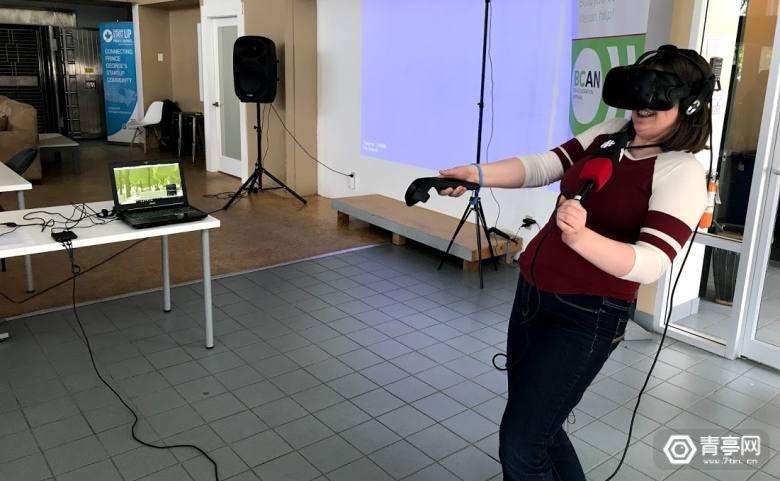 试胆,在VR中体验被熊追击你怕吗
