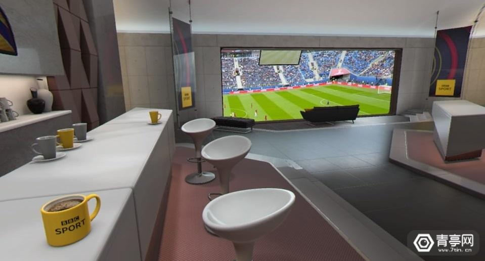 "BBC推出PS VR应用,让你在""行政套房""中看世界杯"