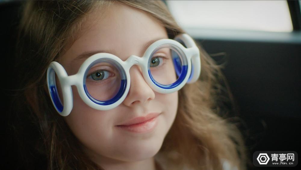 雪铁龙出了款眼镜,竟能降低晕车症状
