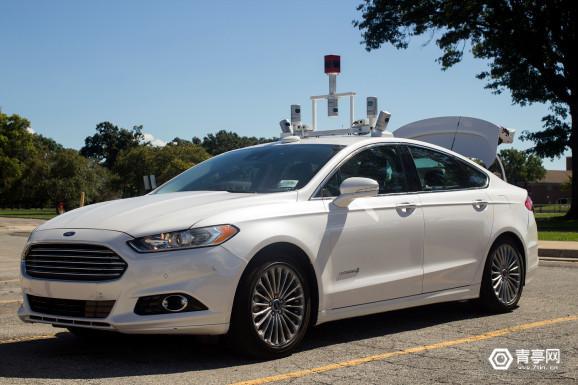 福特Ford-Self-driving-car