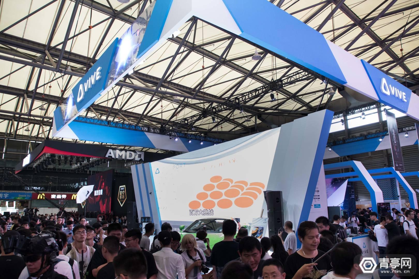 ChinaJoy 2018:HTC公布多款新作,Vive Focus 3.0系统更新