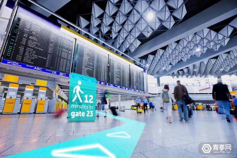 Blippar-Indoor-Visual-Positioning-System-airport