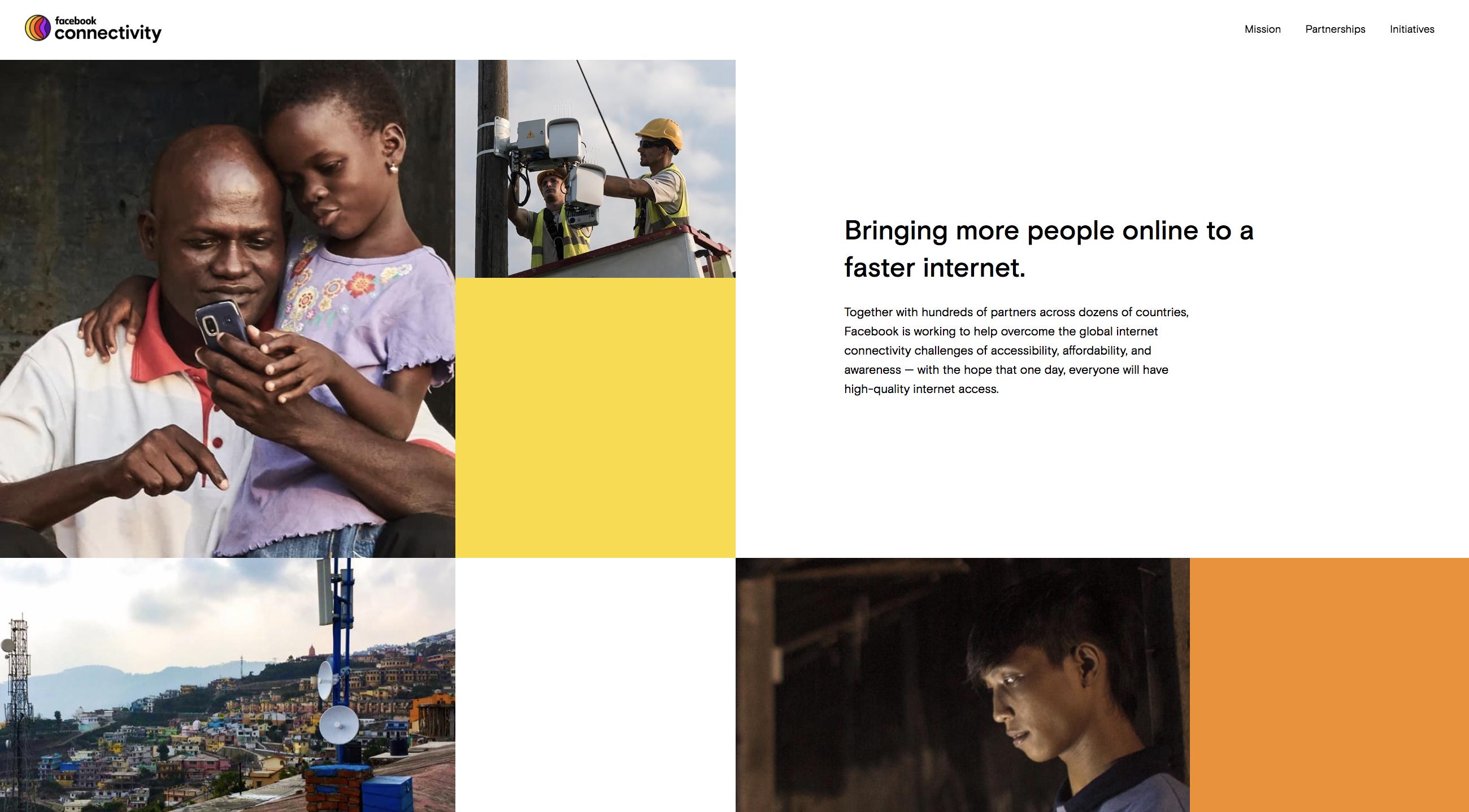 FB成立Connectivity部门,整合旗下多个互联网普及项目