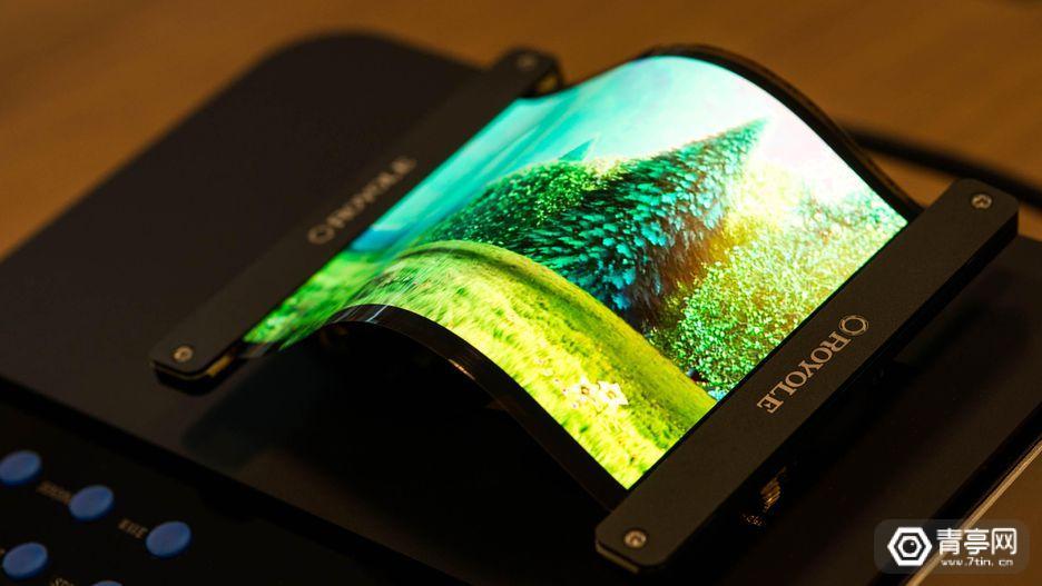 Royole这款仅厚0.01毫米的柔性屏,也许预示了智能手机的未来
