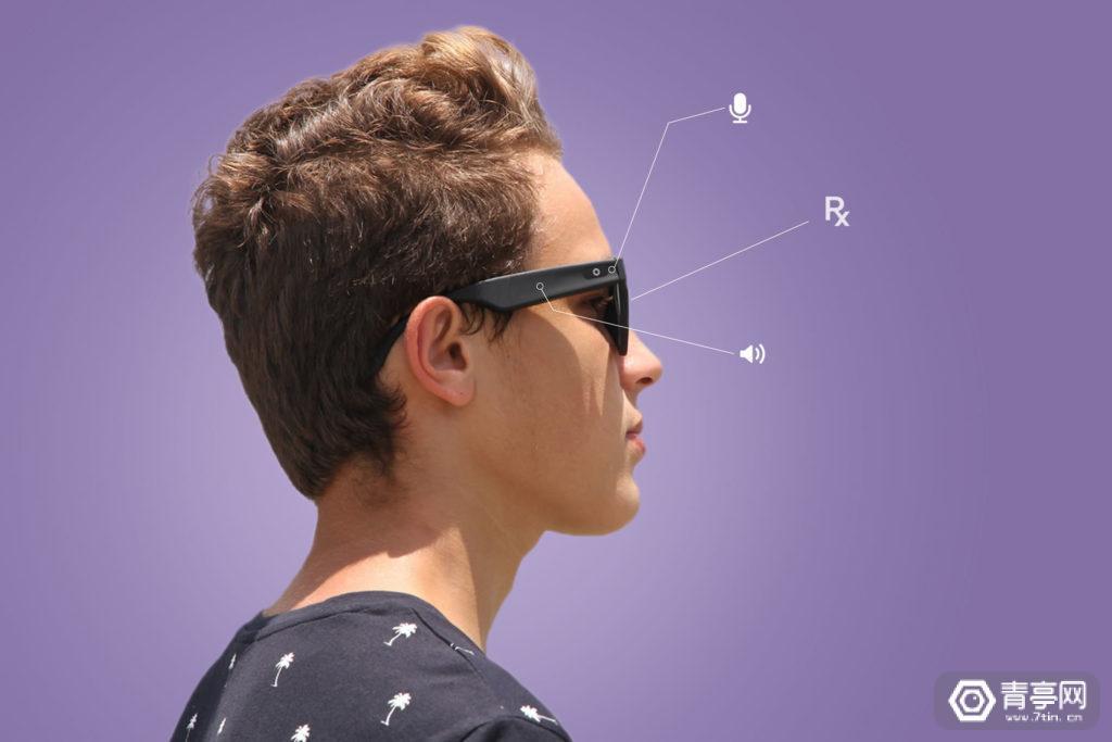 Lucyd推出一款没有显示的智能眼镜,像增强版蓝牙耳机