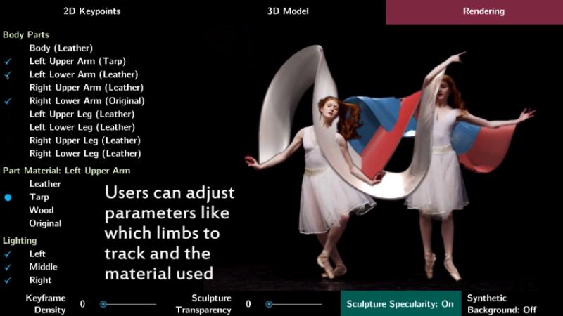 MIT用AI创建3D动画雕塑,竟能帮运动员分析数据