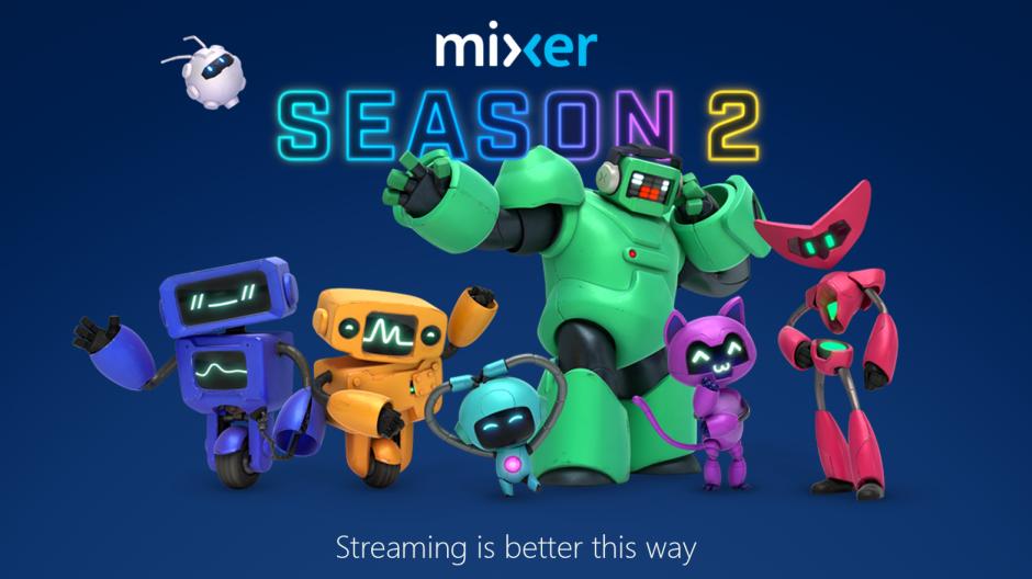 微软全新游戏直播平台来袭,命名Mixer Season 2