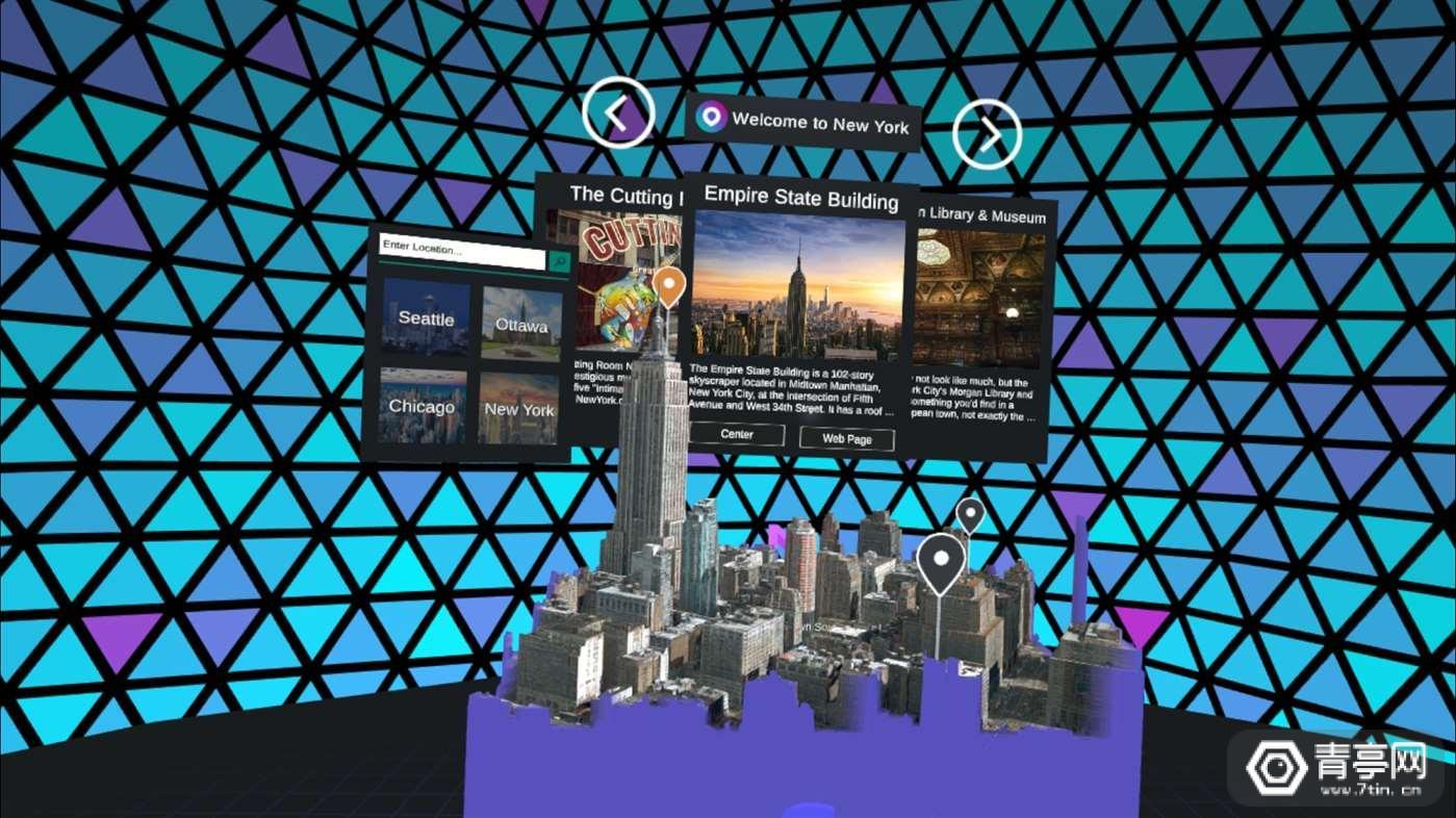 微软推出MR版《Outings》:一款虚拟旅游应用