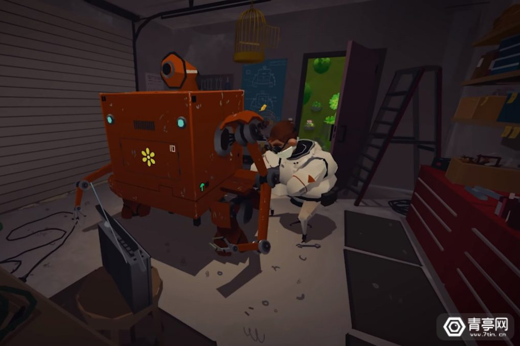 一款为Oculus Quest打造的艺术作品亮相,主打空间探索