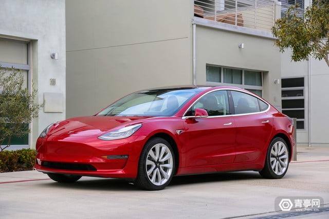 3.5万美元款特斯拉Model 3终于上市,续航350公里