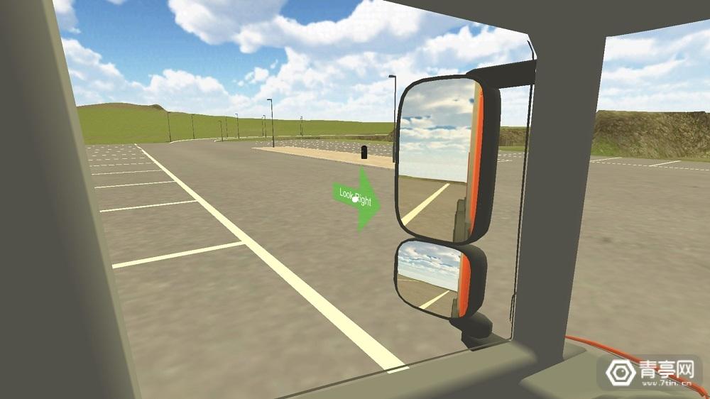 为了提升司机盲区意识,英国交通局推一款VR App