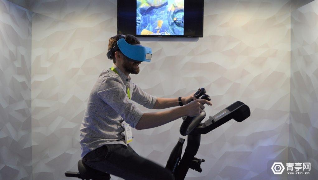 CES 2019:NordicTrack展示VR健身自行车,售价2000美元