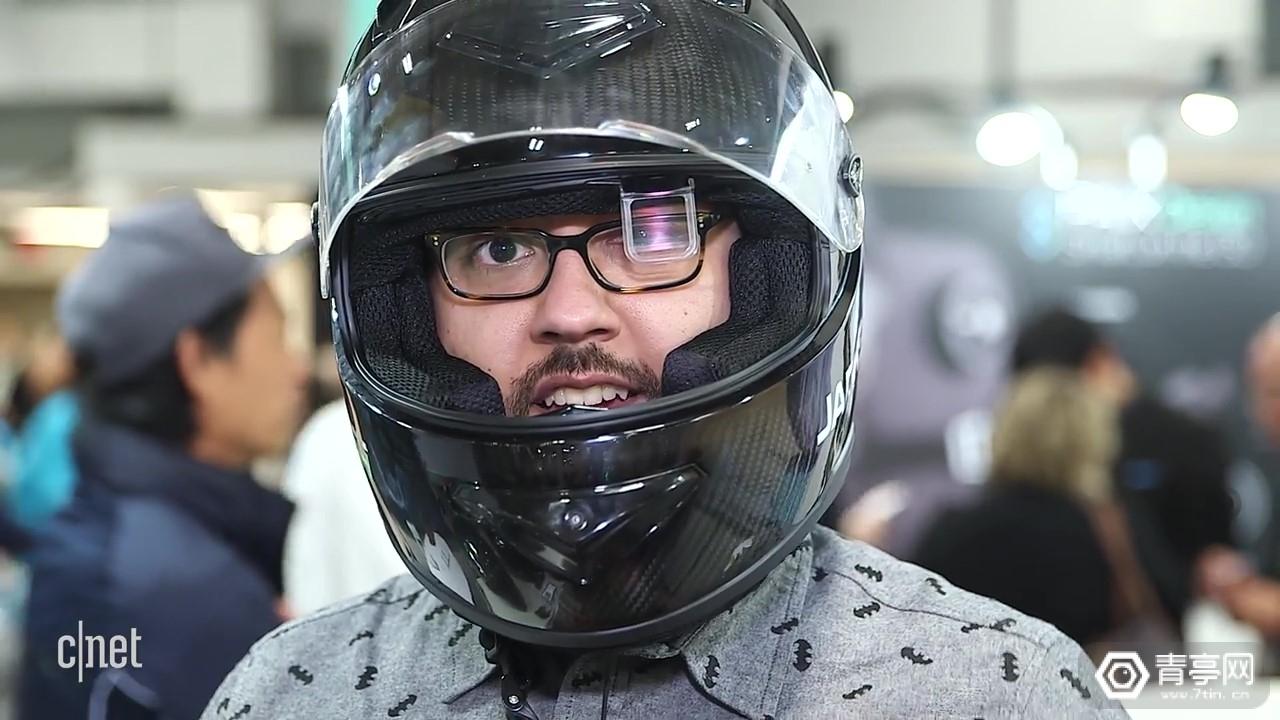 CES2019:JARVISH展示AR头盔,支持语音助理