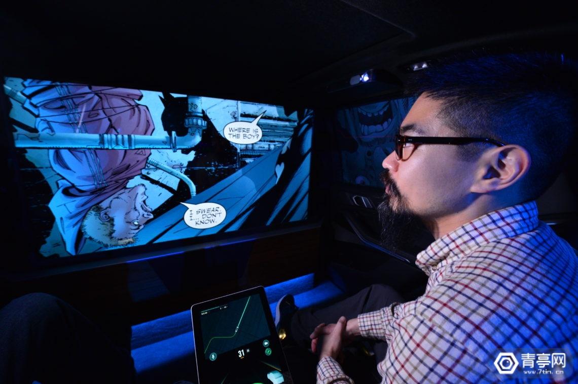 为迎接自动驾驶时代,Intel与华纳兄弟展示车内270°沉浸式影音体验