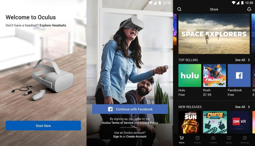 Oculus Android App下载量超100万次
