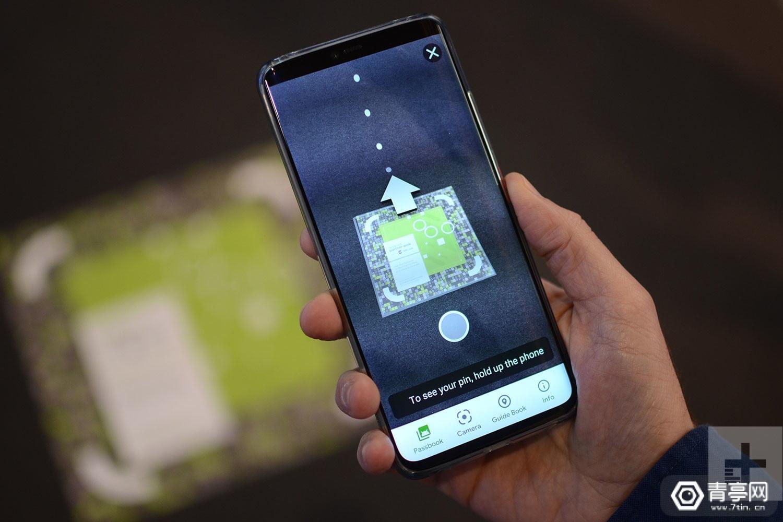谷歌在MWC19会场展示AR导航,还隐藏了一个小游戏