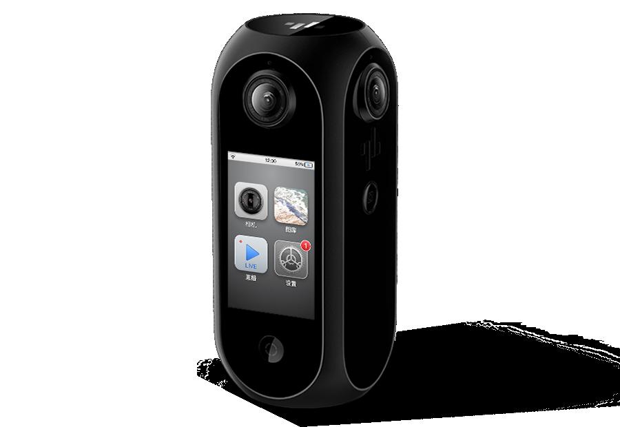 圆周率软件科技推一体化8K 360°智能全景相机Pilot Era
