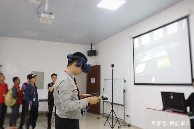 系航空维修领域首家,海航技术上线VR智能培训平台