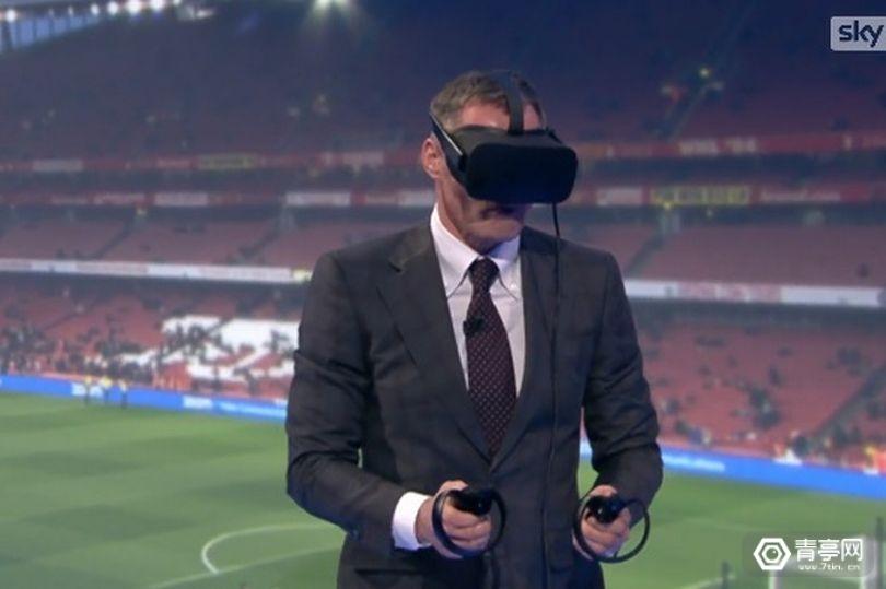 """英超""""越位球""""判罚失败,解说员用VR替裁判说话"""