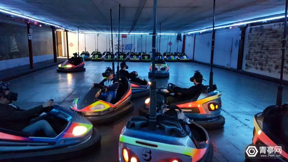 结合大空间动捕系统,首个VR碰碰车项目诞生