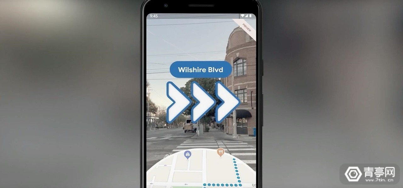 谷歌I/O 2019:全部Pixel手机将支持AR地图预览版
