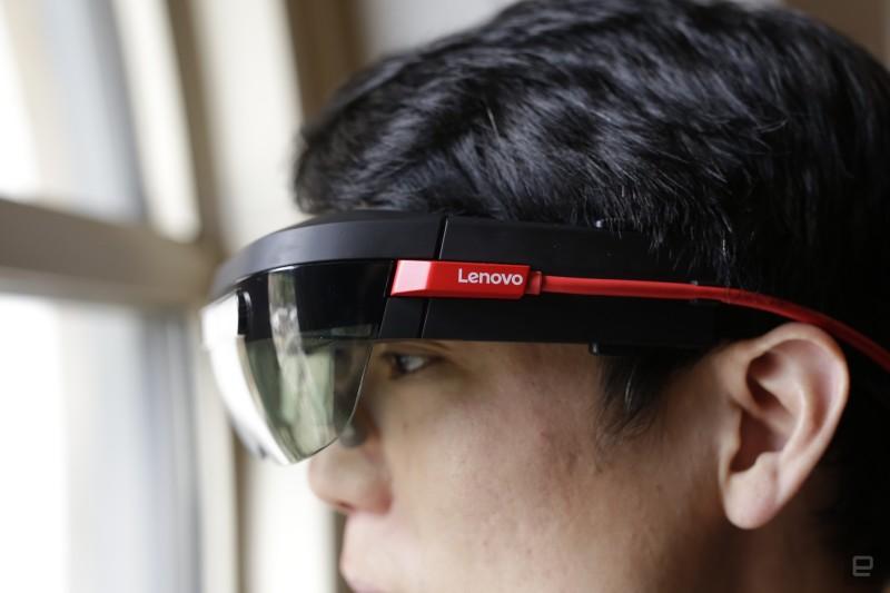 联想thinkreality A6 lenovo-thinkreality-ar-headset-1 (2)